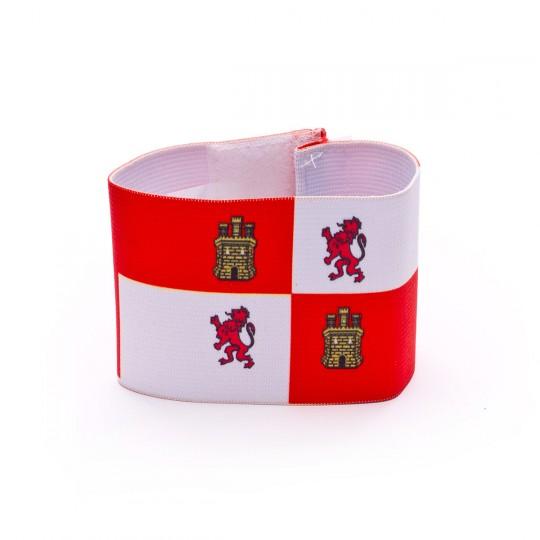 Brazalete  Mercury Capitán Castilla-León Rojo-Blanco