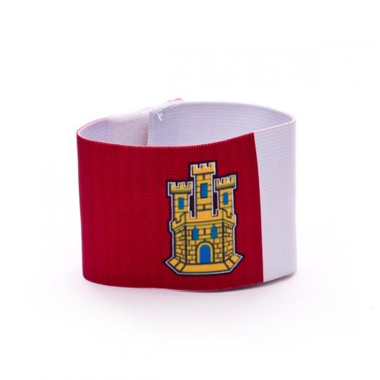 Brazalete  Mercury Capitán Castilla La Mancha Rojo