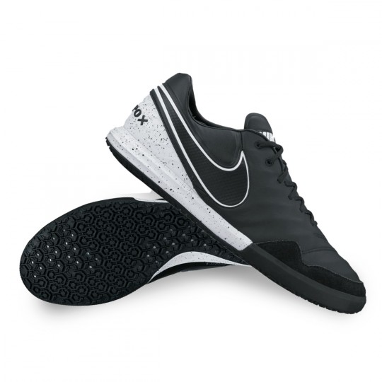 Chaussure de futsal Nike TiempoX Proximo IC Black-Electro green ...