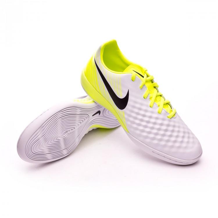 bf8dab988361 Zapatilla Nike MagistaX Onda II IC White-Volt-Pure platinum - Tienda ...