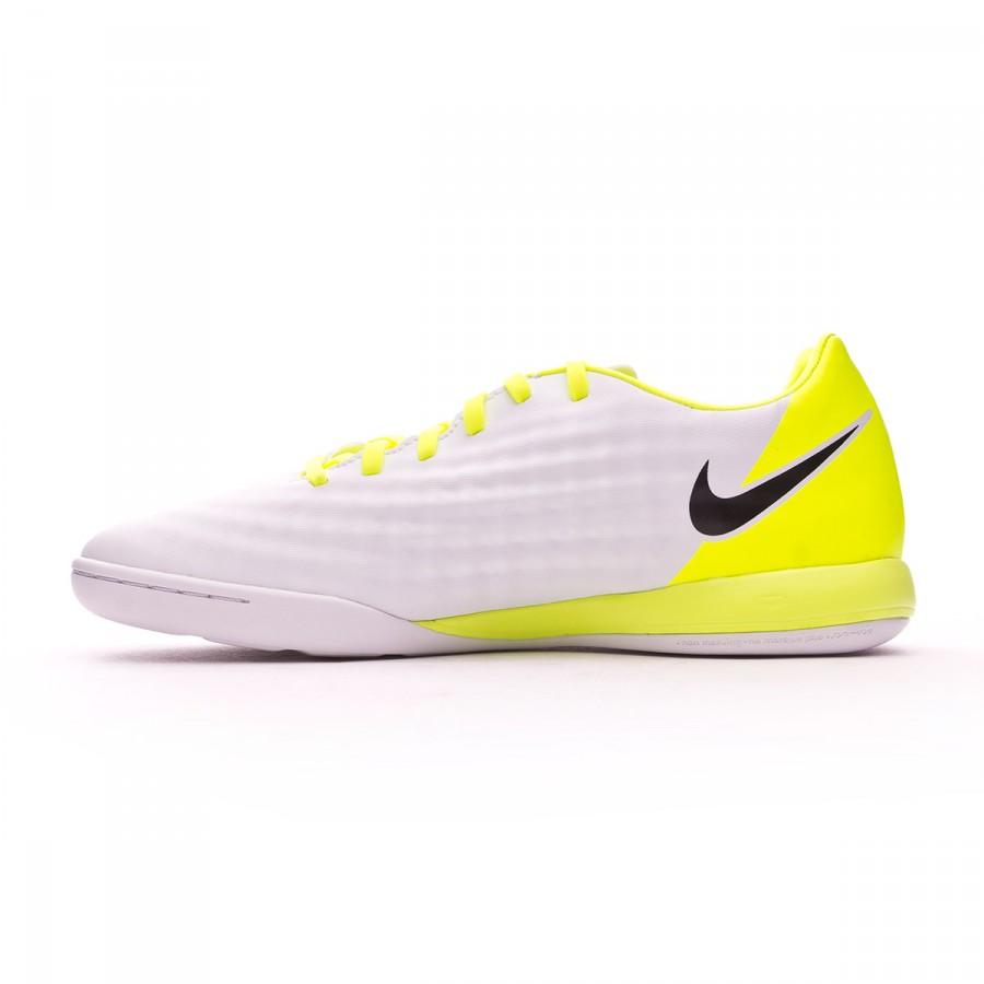 new concept a639f e0a83 Futsal Boot Nike MagistaX Onda II IC White-Volt-Pure platinum - Football  store Fútbol Emotion