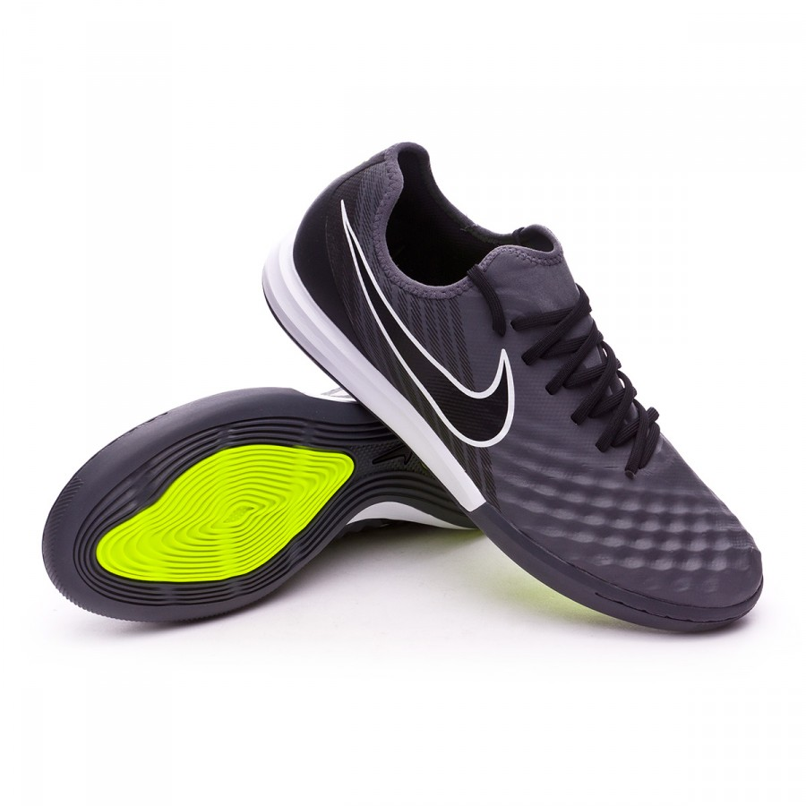 Futsal Boot Nike MagistaX Finale II IC Dark grey-White-Volt ... 08bd06f58