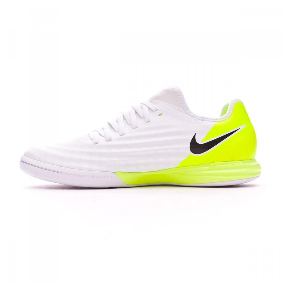 factory authentic 7116e cade5 Futsal Boot Nike MagistaX Finale II IC White-Volt - Football store Fútbol  Emotion