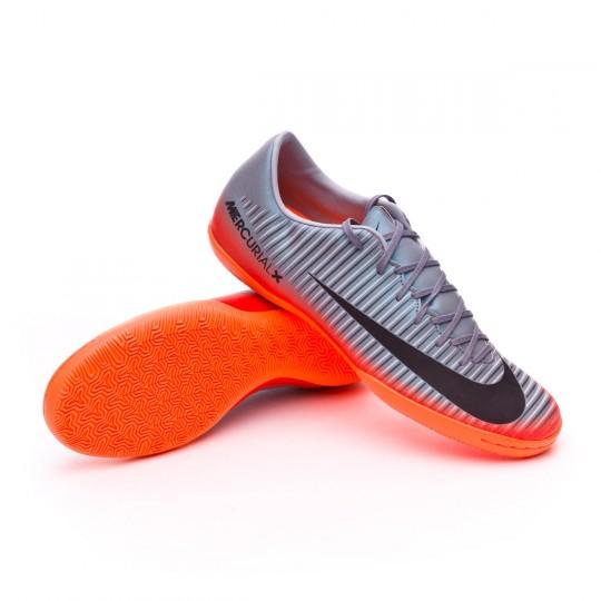 Zapatilla de fútbol sala  Nike MercurialX Victory VI CR7 IC Cool grey-Metallic hematite-Wolf grey