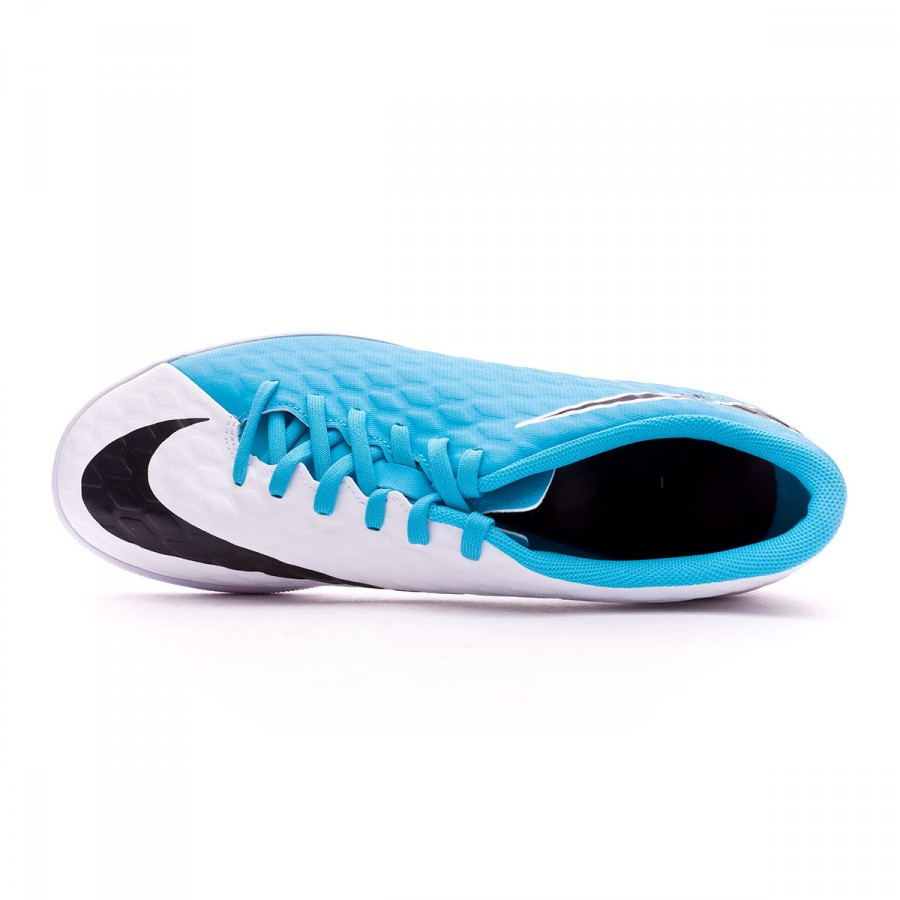 9a91730d4e ... Zapatilla HypervenomX Phade III IC White-Photo blue-Chlorine blue.  CATEGORIA. Futsal