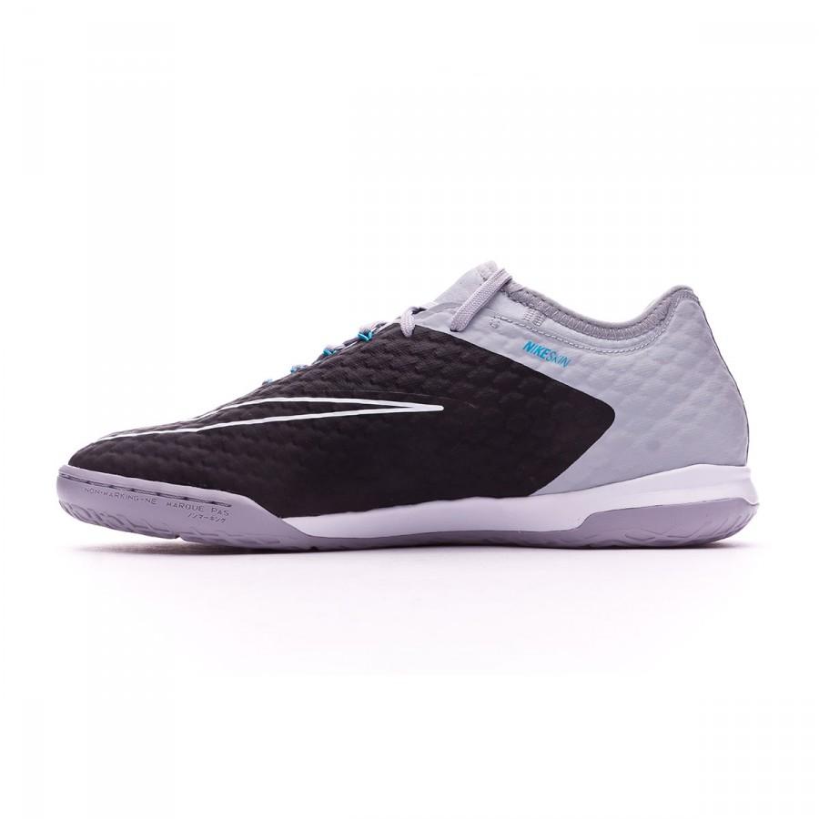 db8a18d6089 Futsal Boot Nike HypervenomX Finale II IC Wolf grey-Chlorine blue-Dark grey  - Football store Fútbol Emotion