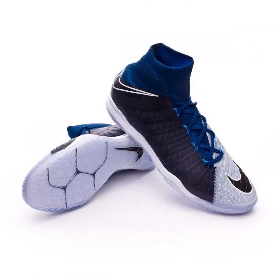 Zapatilla de fútbol sala  Nike HypervenomX Proximo II DF IC Brave blue-Photo blue-Blue tint