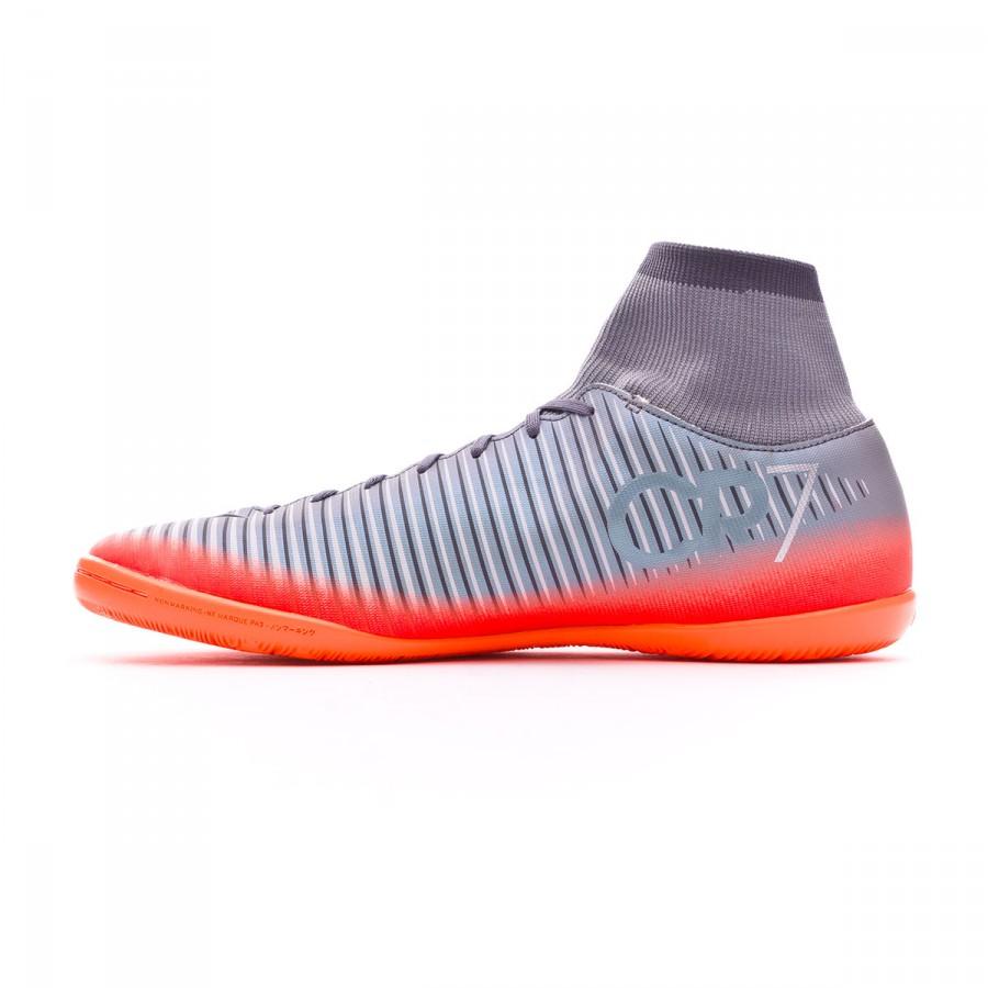 61093658720 Futsal Boot Nike MercurialX Victory VI DF CR7 IC Cool grey-Metallic  hematite-Wolf grey - Football store Fútbol Emotion
