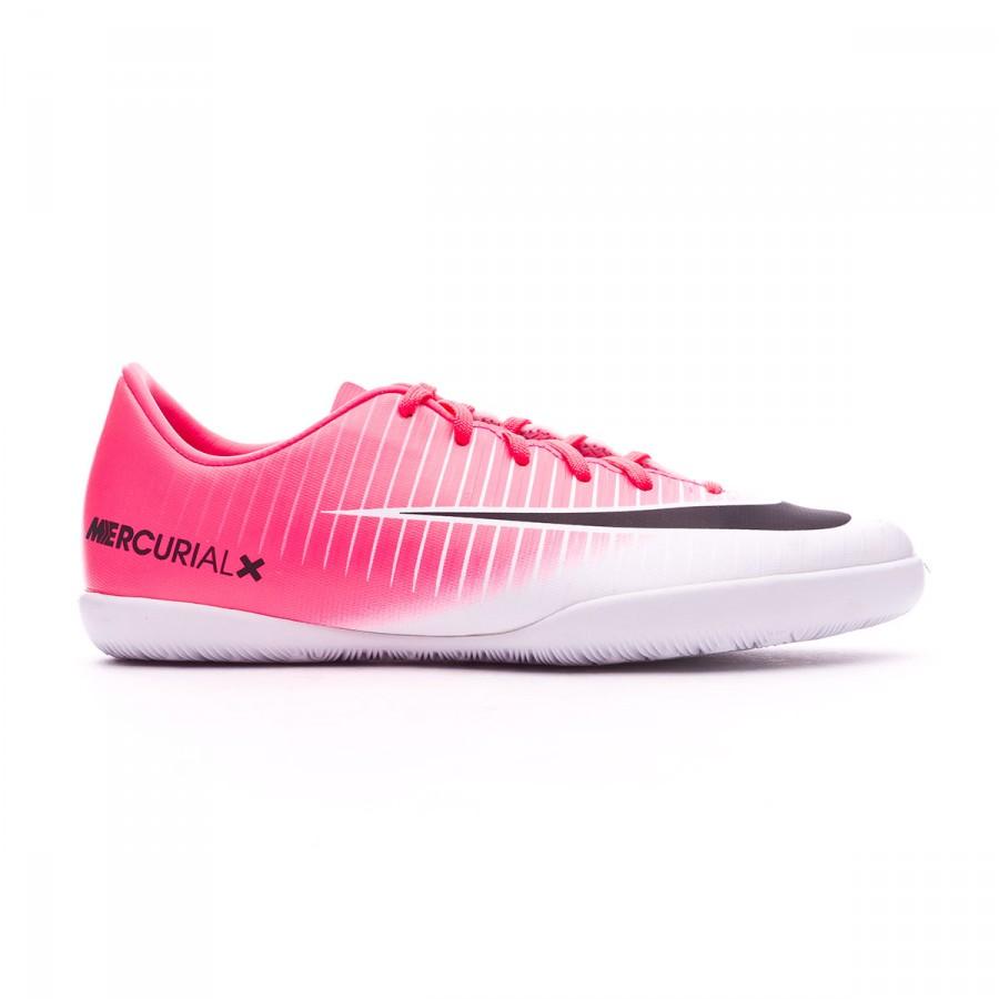 e36c9cf6003 Futsal Boot Nike Jr MercurialX Vapor XI IC Racer pink-White - Soloporteros  es ahora Fútbol Emotion