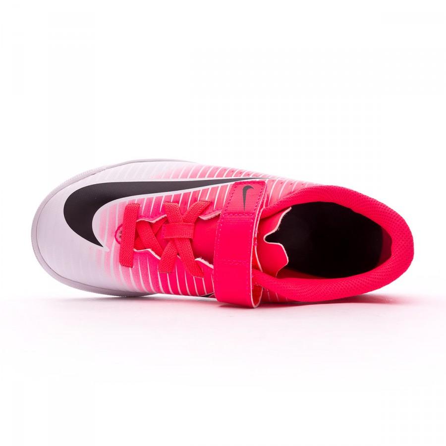 buy popular 78502 72b6b Futsal Boot Nike Jr MercurialX Vortex III Velcro IC Racer pink-White -  Tienda de fútbol Fútbol Emotion