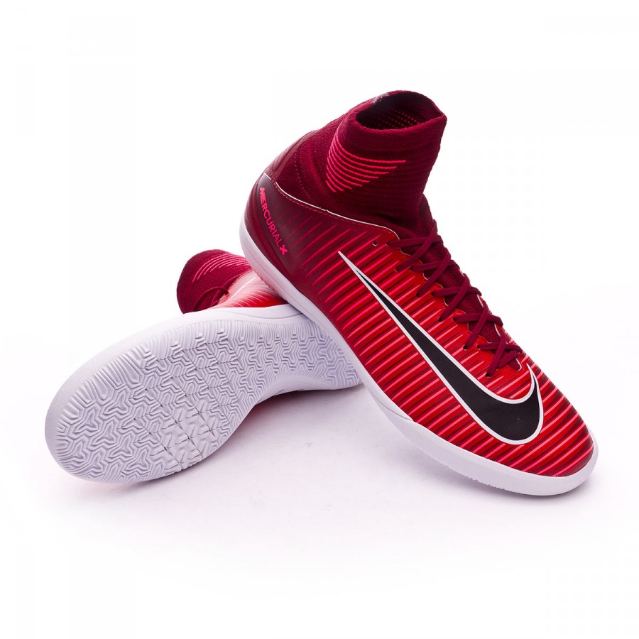 99ced5ad6b145 Zapatilla Nike MercurialX Proximo II DF IC Niño Team red-Racer pink-White -  Tienda de fútbol Fútbol Emotion