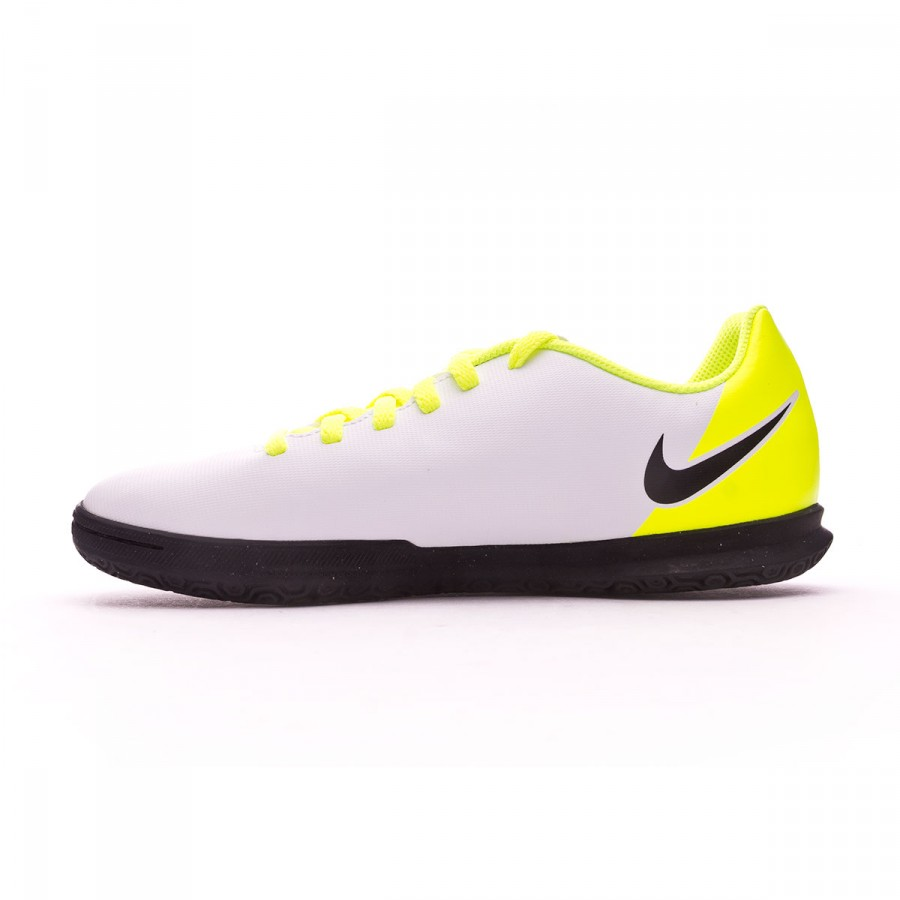6ea319bfe Futsal Boot Nike Jr MagistaX Ola II IC White-Volt-Pure platinum - Football  store Fútbol Emotion