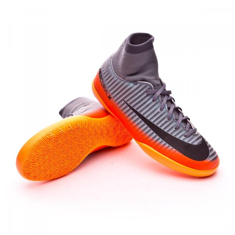3834f3570b5 Futsal Boot Nike Jr MercurialX Victory VI DF CR7 IC Cool grey ...