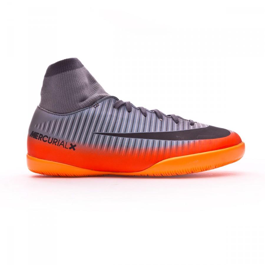 d4a49cac767 Futsal Boot Nike Jr MercurialX Victory VI DF CR7 IC Cool grey-Metallic  hematite-Wolf grey - Tienda de fútbol Fútbol Emotion