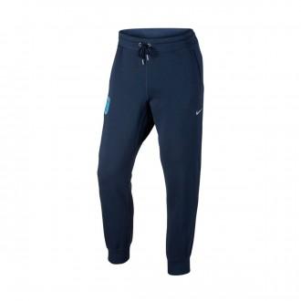 Pantalón largo  Nike Inglaterra NSW CF 2016-2017 Midnight navy-Metallic Silver