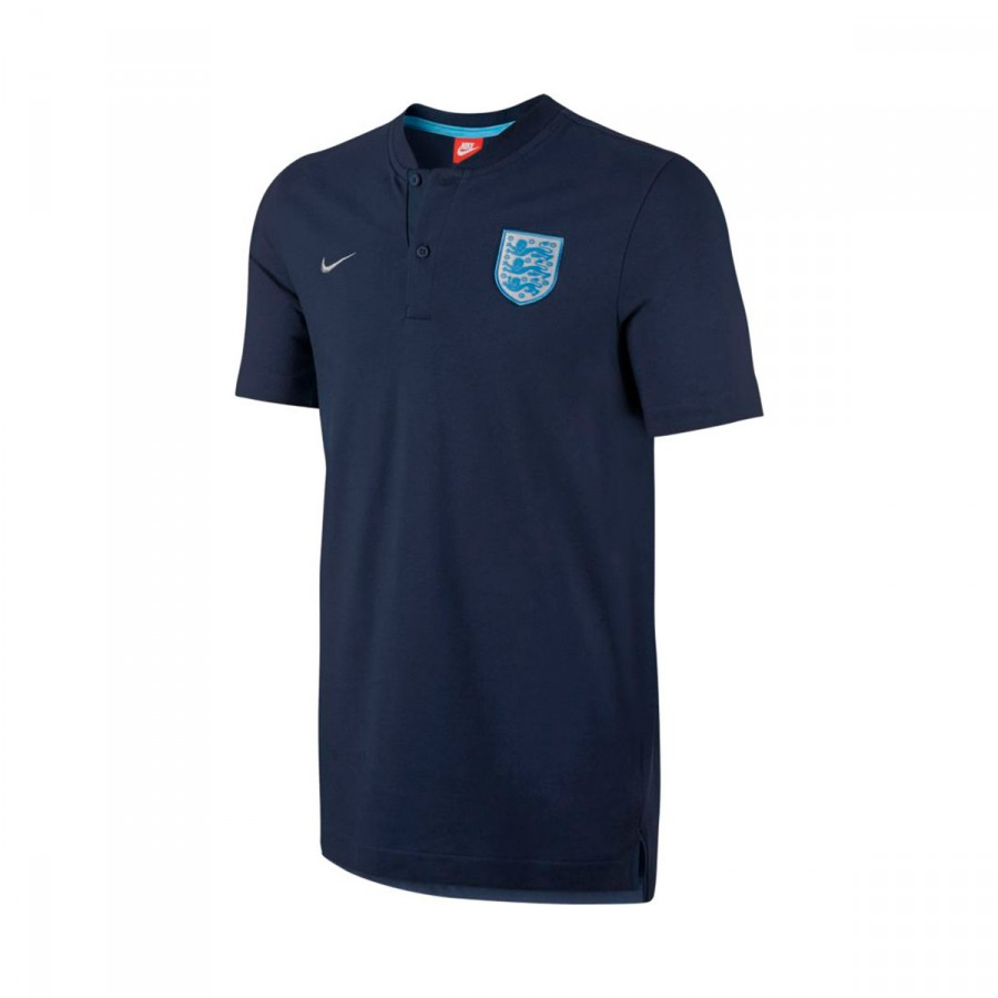 832c9eb8 Polo shirt Nike England NSW Grand Slam 2017-2018 Midnight navy-Metallic  Silver - Tienda de fútbol Fútbol Emotion