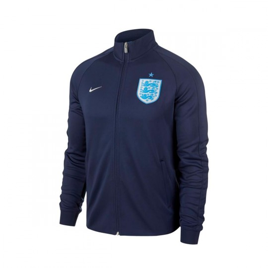 Chaqueta  Nike England NSW N98 2016-2017 Midnight navy-Metallic Silver
