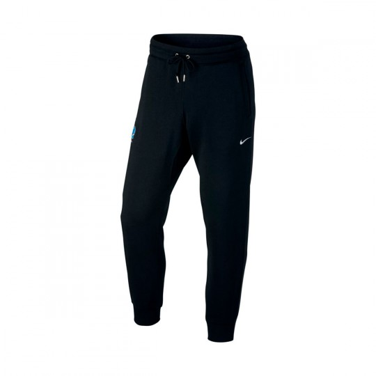 Pantalón largo  Nike Francia NSW CF Black-Metallic silver