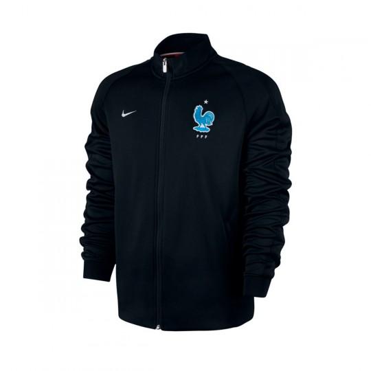 f086e22b38 Casaco Nike França NSW N98 2016-2017 Black-Metallic silver - Loja de futebol  Fútbol Emotion