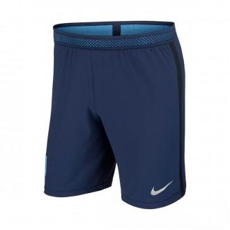 Pantalón corto  Nike Inglaterra Vapor Match 2017-2018 Midnight navy-Black-Metallic Silver