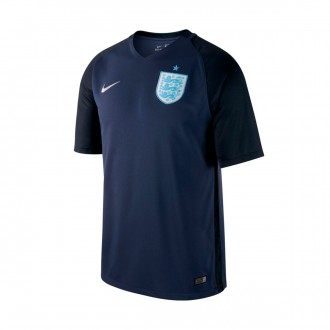 Camisola  Nike Inglaterra Dry Stadium 2017-2018 Midnight navy-Black-Metallic Silver