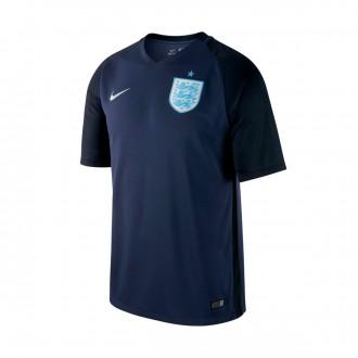 Camiseta  Nike Inglaterra Dry Stadium 2017-2018 Midnight navy-Black-Metallic Silver