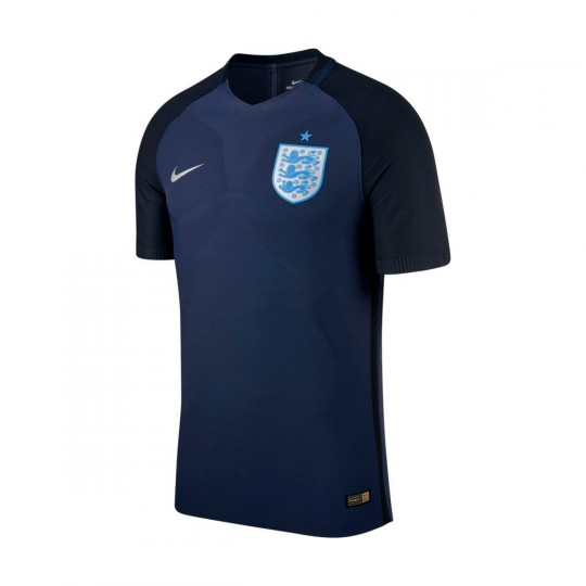 Camiseta  Nike jr England Dry Stadium 3ª 2016-2017 Midnight navy-Black-Metallic Silver
