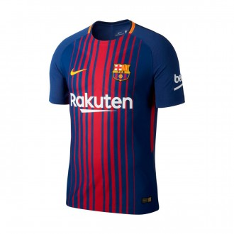 Camisola  Nike FC Barcelona Vapor Match SS 2017-2018 Deep royal blue-University gold