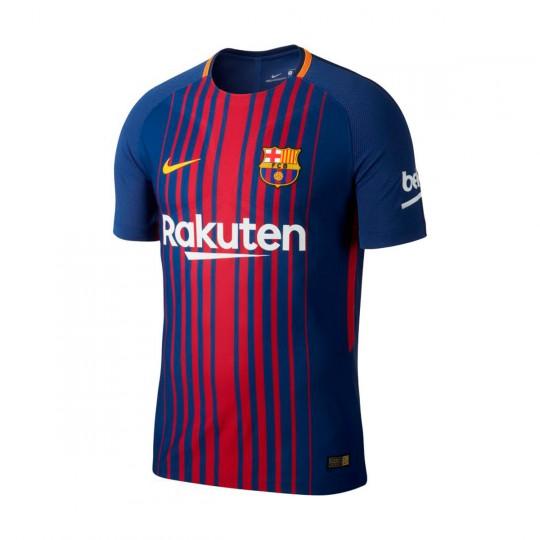 Camiseta  Nike FC Barcelona Vapor Match SS 2017-2018 Deep royal blue-University gold