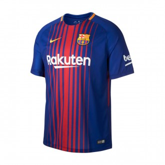Camiseta  Nike FC Barcelona Breathe Stadium SS 2017-2018 Deep royal blue-University gold