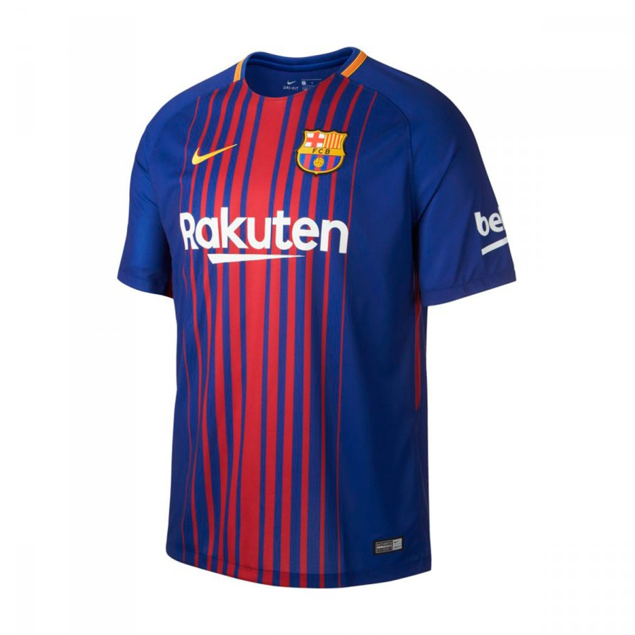 a4dc4d2dc2e51 Jersey Nike FC Barcelona Breathe Stadium 2017-2018 Home Deep royal ...