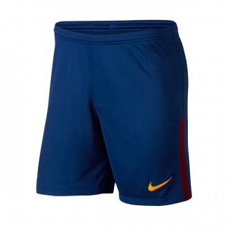 Calções  Nike FC Barcelona Stadium Principal 2017-2018 Deep royal blue-University gold