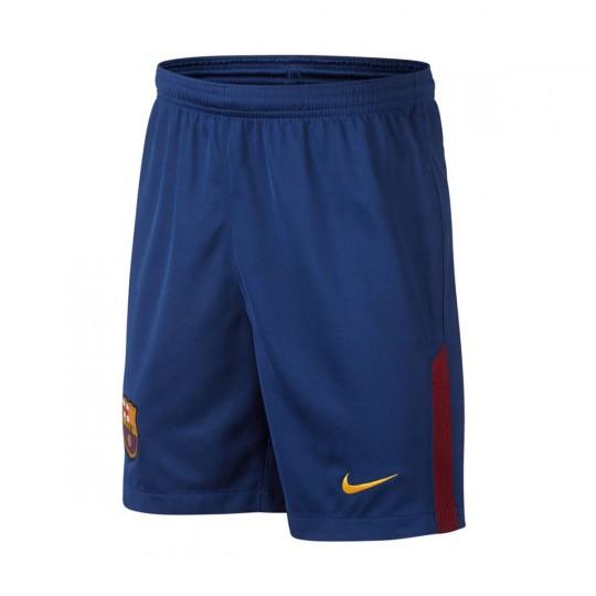 Pantalón corto  Nike jr FC Barcelona Breathe Stadium 2017-2018 Deep royal blue-University gold