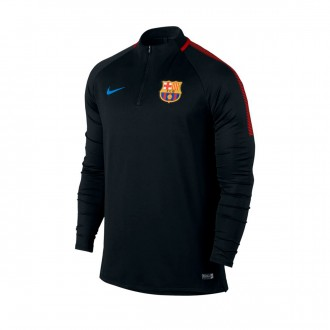 Chaqueta  Nike FC Barcelona Dry Squad Dril Top 2017-2018 Black-University red-Soar