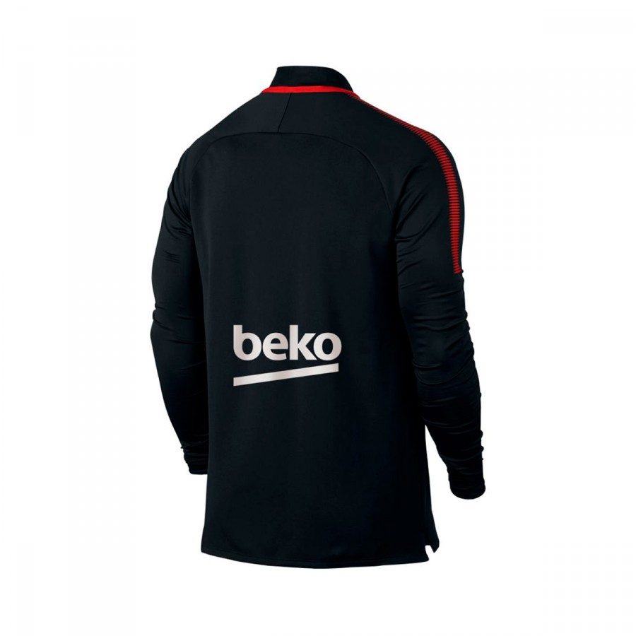 Sweatshirt Nike FC Barcelona Dry Squad Dril Top 2017-2018 Black ... 93e14791453