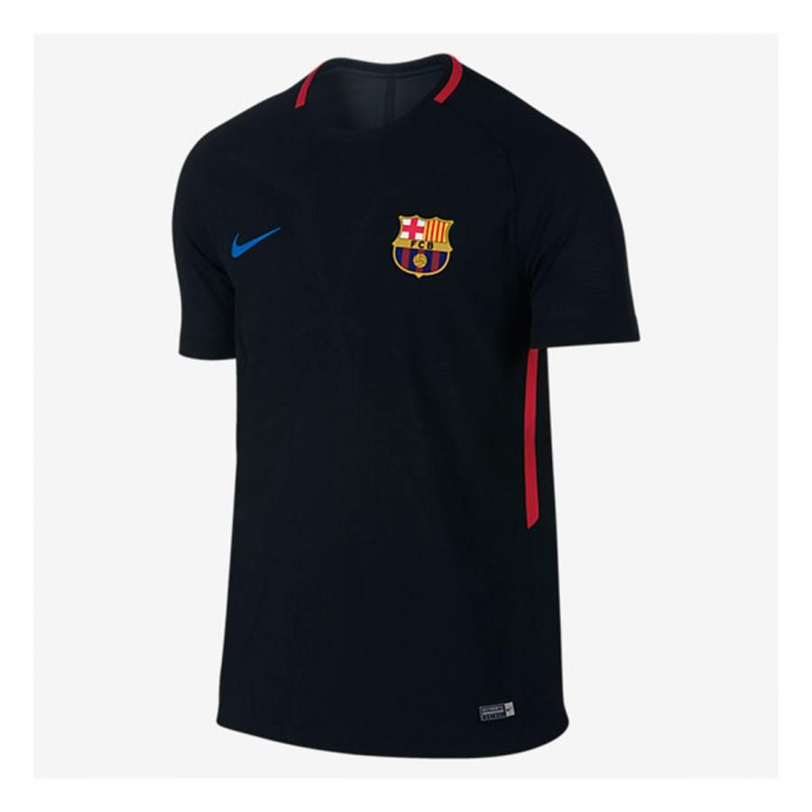 Jersey Nike FC Barcelona Aeroswift Strike 2017-2018 Black-University ... 379bb667196