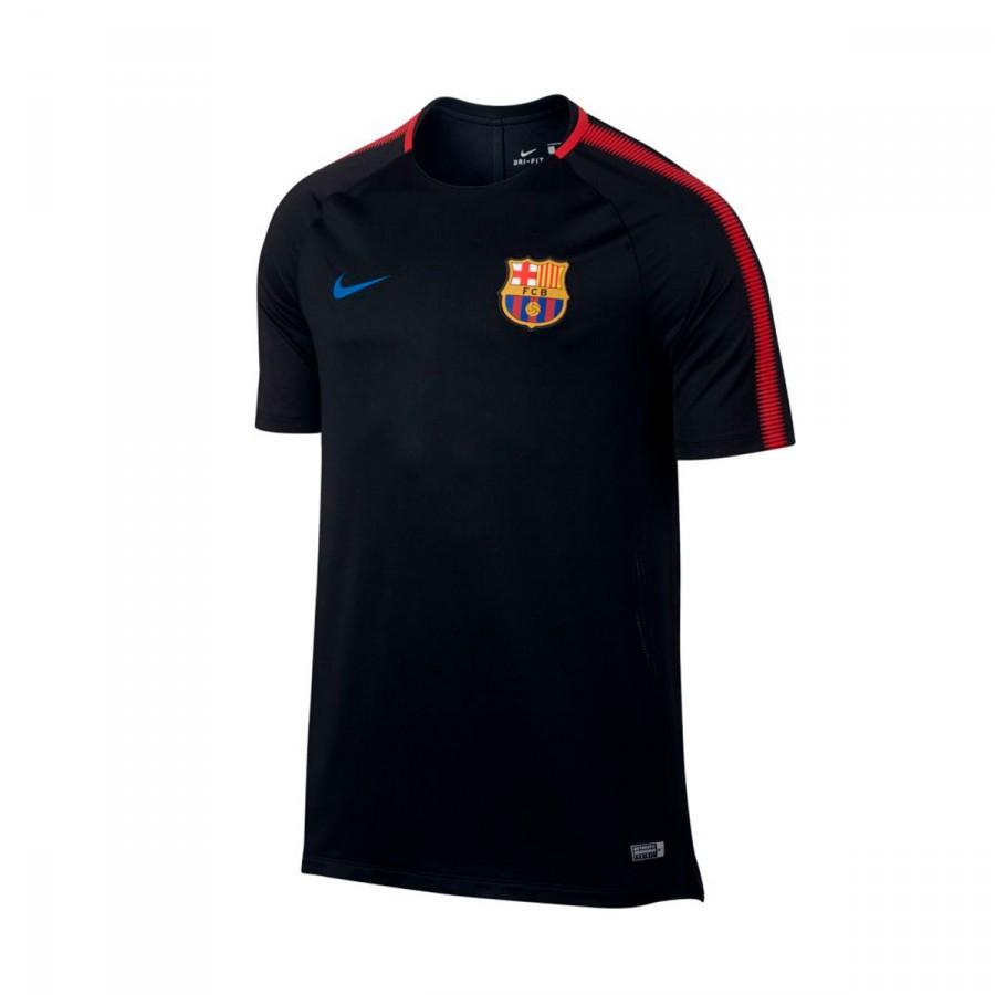 4acec700ddd Jersey Nike FC Barcelona Breathe Squad Football Top 2017-2018 Black ...