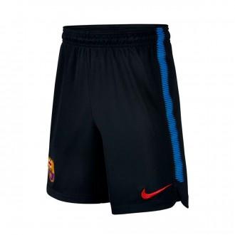 Pantalón corto  Nike FC Barcelona Dry Squad 2017-2018 Niño Black-Soar-University red
