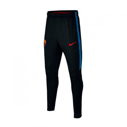 Pantalón largo  Nike FC Barcelona Dry Squad 2017-2018 Black-Soar-University red
