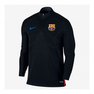 Sweatshirt  Nike FC Barcelona Dry Strike Dril Top 2017-2018 Black-University red-Soar