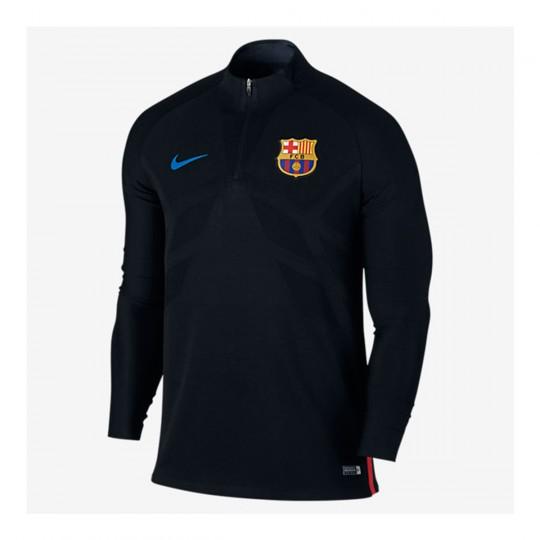 Camiseta  Nike FC Barcelona Dry Strike Dril Top 2017-2018 Black-University red-Soar