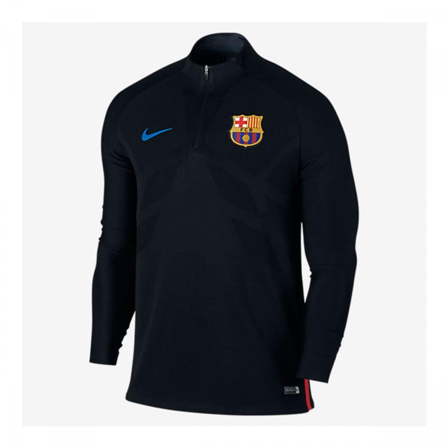 Sweatshirt Nike FC Barcelona Dry Strike Dril Top 2017-2018 Black ... 8fca077e56a
