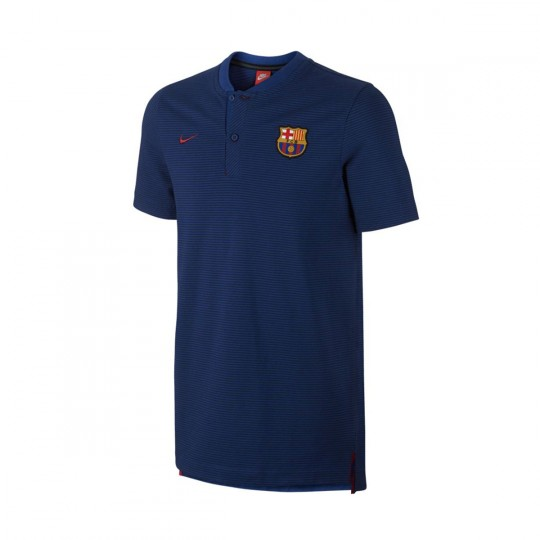 Polo  Nike FC Barcelona Grand Slam 2017-2018 Deep royal blue-Binary blue-Noble red
