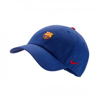 Gorra  Nike FC Barcelona Heritage 2017-2018 Deep royal blue-Noble red