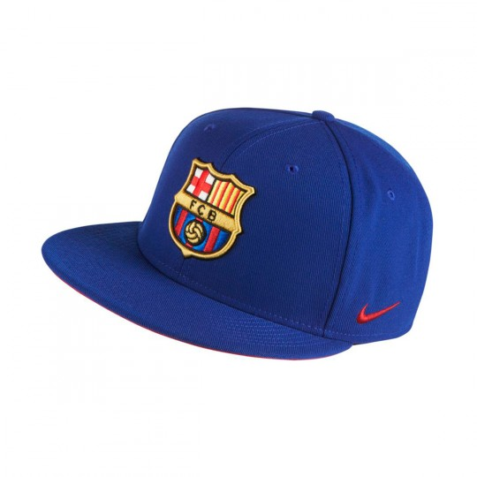 Gorra  Nike FC Barcelona Ajustable Deep royal blue-Noble red