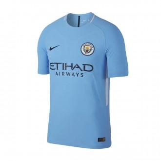 Camiseta  Nike Manchester City Vapor Match SS 2017-2018 Field blue-Midnight navy