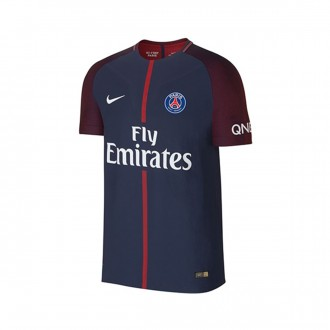 Camisola  Nike Paris Saint-Germain Vapor Match Primera Equipación 2017-2018 Midnight navy-White