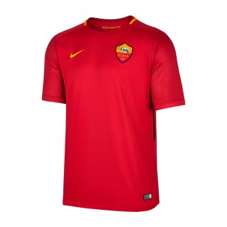 Camisola  Nike AS Roma Breathe Stadium SS Principal 2017-2018 Team crimson-University gold