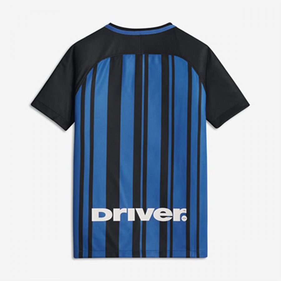 Camiseta Nike Inter Milan Breathe Stadium Primera Equipación 2017-2018 Niño  Black-White - Soloporteros es ahora Fútbol Emotion 7e62648afa6cb