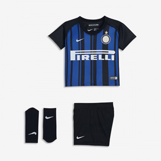 Conjunto  Nike Inter Milan 2017-2018 Bebé Black-Royal blue-White